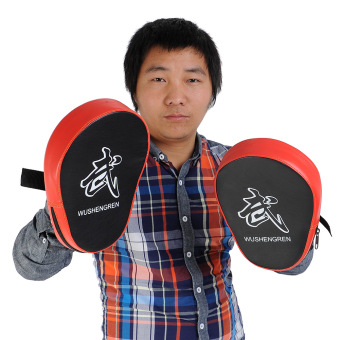 Aukey 2X Boxing Mitt MMA Target Focus Punch Pad Training Glove Karate Muay Thai Price Philippines