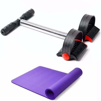 Tummy Trimmer (Black) with Yoga Mat 68x24 Color May Vary Price Philippines