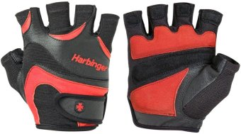 Harga Harbinger 13837 Flex Fit Gloves (Black/Red)