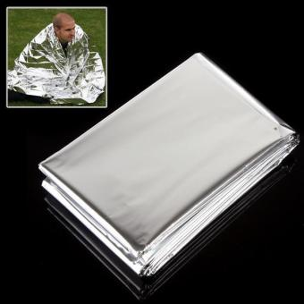 Outdoor 50g Silver Emergency Survival Rescue Military Blanket - intl Price Philippines