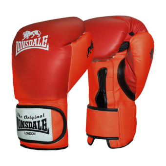 LONSDALE FIGHT GLOVES (RED) 12OZ Price Philippines