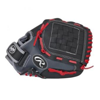 "Rawlings Playmaker Fielder Gloves 11"" (Black/Grey/Red) Price Philippines"