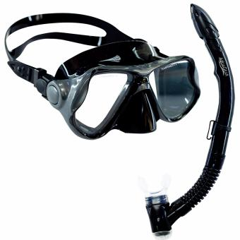 Aquagear M22 Mask & Snorkel Set Gray/Black Price Philippines