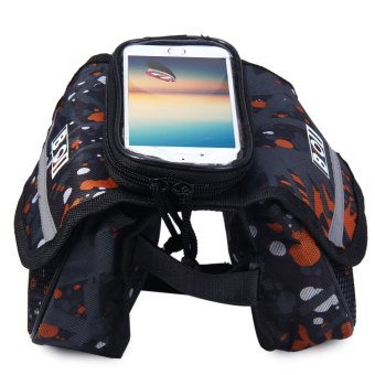 BOI Bike Phone Bag Front Tube Touch Screen (Colormix) - Intl--TC Price Philippines