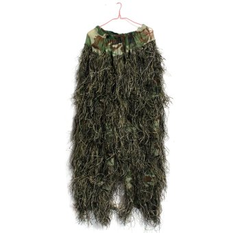 Harga 3D Military Leaf Hunting Camo Tactical Camouflage Clothing Ghillie