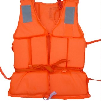 Professional Adult Working Rescue Life Jacket Foam Vest with Whistle Price Philippines