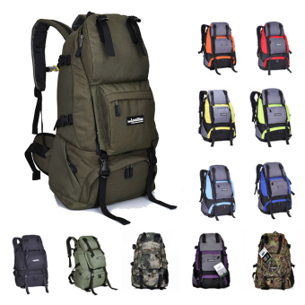 Local Lion Outdoor Waterproof 40L Camping Hiking Backpack Mountaining Bag(Army Green) Price Philippines