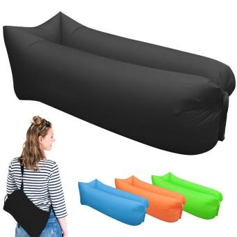 Harga Inflatable Lounge Air Bag Beach Flatfish Sleeping Bed Air Sofa Coach For Camping Hiking 10s Outdoor Sleeping Bags(Square Shape) - intl