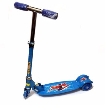 Harga 508 type Ride-On Push Scooter for Kids with laser wheel (Blue)