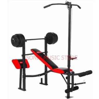 MATRIX MX-168 WEIGHT BENCH PRESS 7 IN 1 WITH 80LBS PLATES Price Philippines