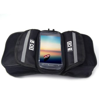 BOI Bike Phone Bag Front Tube Touch Screen (Black) - Intl--TC Price Philippines