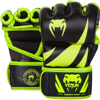 Venum Challenger MMA Gloves 4 oz / M (Black/Neo Yellow) Price Philippines