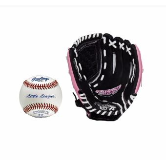 "Rawlings PM115BGP RHT Playmaker Gloves 11.5"" with Rawlings RLLB1 Baseball Ball Price Philippines"