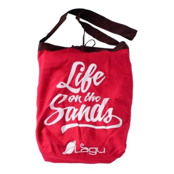 Lagu Vino Beach Bag (Red) Price Philippines