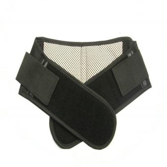Harga Waist and Lower Back Support Brace with Therapeutic Magnets and FAR-INFRARED black (model#02)