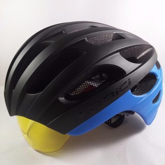 Harga La Bici Gladiator Road Bike Helmet (Blue)