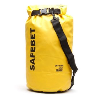 Harga SafeBet 20L Dry Bag (Yellow)