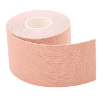 Harga LALANG Muscle Pain Care Sports Elastic Tape Therapeutic Skin (Pink) - intl