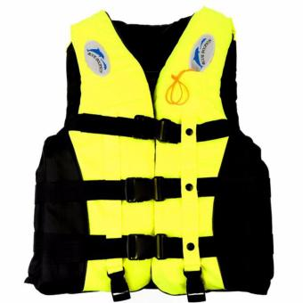 Harga mittaGonGLife Jacket Vest Fully Enclose Foam Adult Boating Size XL + Whistle - intl