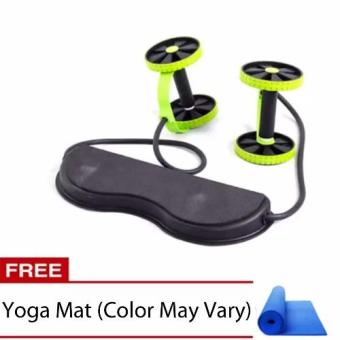 "Revoflex Xtreme Muscle Toning Kit with Free Yoga Mat 68"" x 24""(Color May vary) Price Philippines"