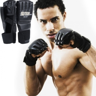 Harga Astar Training Sparring Boxing Gloves (Black) - Intl