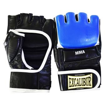 Excalibur MMA Gloves Cowhide Leather Blue Price Philippines