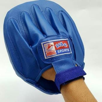 Boxing Mitt Training Target Focus Punch Pad Glove MMA Karate Muay Kick Kit USA Sports (Blue) Price Philippines