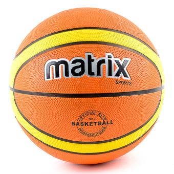 Matrix Rubber Basketball #7 (Double Color Orange) Price Philippines