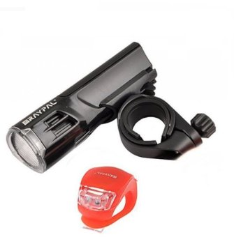 Harga Raypal RPL 2225-1 5 LEDs Head Lights and Tail Light #0054 (Black)