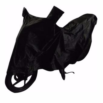 Harga Waterproof Motorcycle Cover (L-Black)
