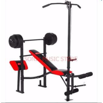 MATRIX MX-168 WEIGHT BENCH PRESS 7 IN 1 WITH 80LBS PLATES (1) Write a review Price Philippines