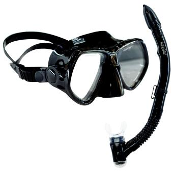 Aquagear M21 Mask & Snorkel Set Black Price Philippines