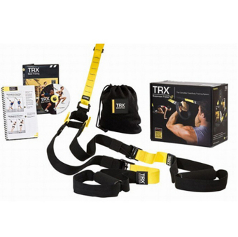 Harga Fitness Exercise Equipment PRO TRX Suspension Hang Resistance Bands Trainer Crossfit Training Kits Portable Home Gym Full Body Workout(P2) - intl