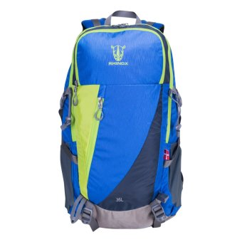 Rhinox 079 Mountaineering Bag (Blue/Neon Green) Price Philippines