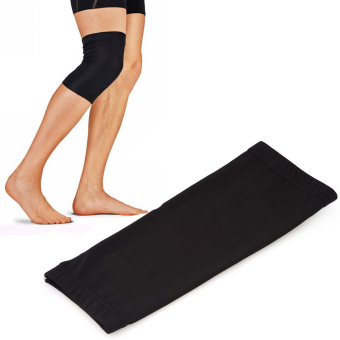 Durable Elastic Copper Fit Sports Knee Compression Support Brace Sleeve - intl Price Philippines