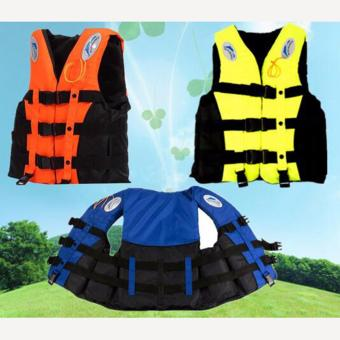 Harga mittaGonGLife Jacket Vest Fully Enclose Foam Adult Boating Size L + Whistle - intl