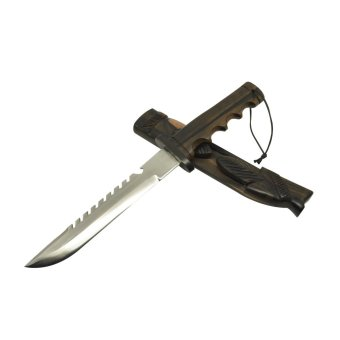 Harga Open Dagger Knife with Teeth