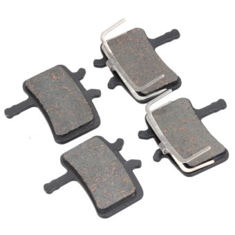 Harga 2 Pairs MTB bicycle disc brake pads for Avid BB7 Hydraulic Avid juicy3/57 - intl