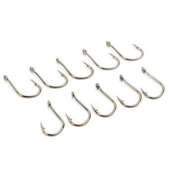 Harga Kamalsu Fishing Hook Size 9 (Silver)