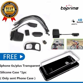 Harga Toprime Wireless Bluetooth & ANT+ Speed Cadence Sensor for iOS (Black)