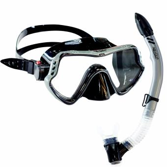 Aquagear M11 Mask and Snorkel Set Gray/Black Price Philippines