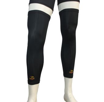 Harga PROCARE COMBAT #CS25AS Compression Leg Sleeves with Top and Bottom Anti-slip (Black)