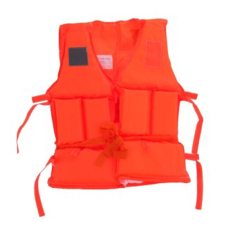 Harga Polyester Adult Kid Life Jacket Universal Swimming Boating Ski Vest(Kids)