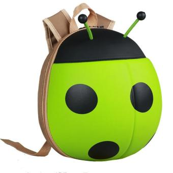 Harga Personalized Seven Star Ladybug backpack, the new listing, novel design, environmental protection, ultra light waterproof fabrics, baby - intl