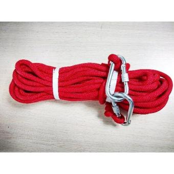Kernmantle Safety Rope Climbing Rappelling Rescue Escape 20m (Red) Price Philippines