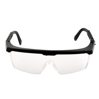 Harga New Eye Protection Clear+Black Goggles Glasses From Dust Paint Anti Fog - intl