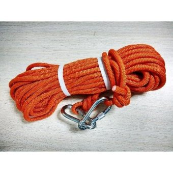 Kernmantle Safety Rope Climbing Rappelling Rescue Escape 20m (Orange) Price Philippines