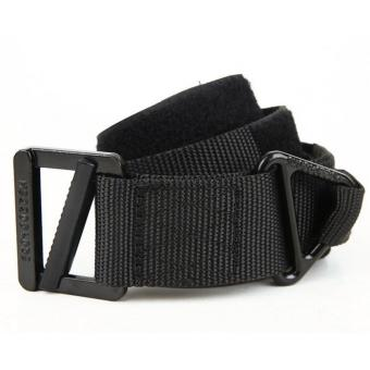 Adjustable Survival Tactical Belt Emergency Rescue Rigger CQB (Black)(XL) Price Philippines