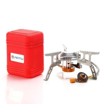 Harga Portable Ultralight Outdoor Gas Burner Camping Gas Stoves - intl