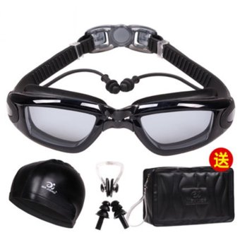 Harga Men And Women Goggles High Definition Antifogging And Waterproof - intl